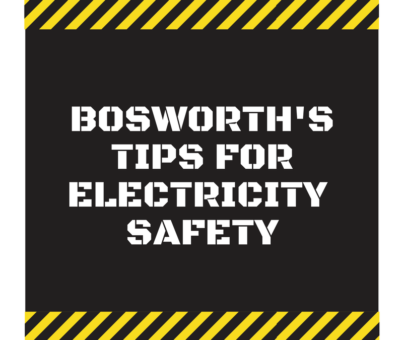 Bosworth's Tips For Electricity Safety