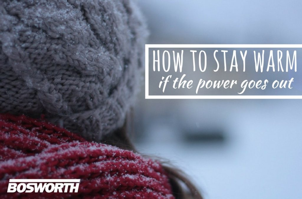 How to Stay Warm if the Power Goes Out